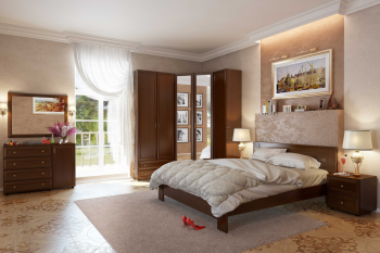 Как можно обставить спальню